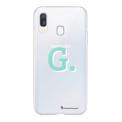 Coque Samsung Galaxy A20e 360 intégrale transparente Initiale G Ecriture Tendance Design La Coque Francaise