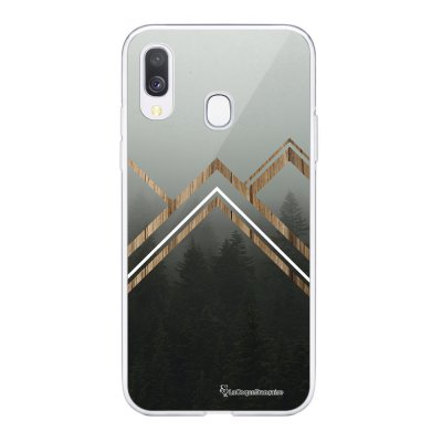 Coque Samsung Galaxy A20e 360 intégrale transparente Trio Forêt Ecriture Tendance Design La Coque Francaise