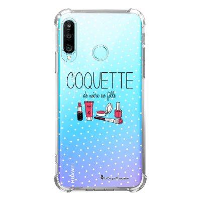Coque Huawei P30 Lite anti-choc souple avec angles renforcés transparente Coquette La Coque Francaise