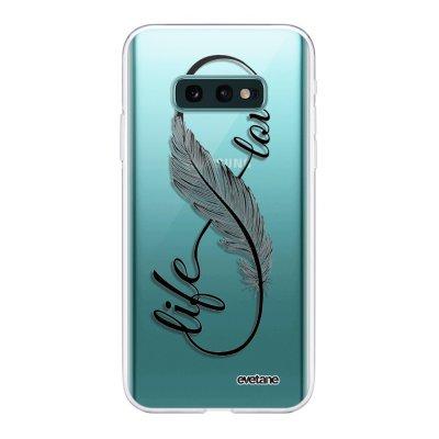 Coque Samsung Galaxy S10e 360 intégrale transparente Love Life Ecriture Tendance Design Evetane