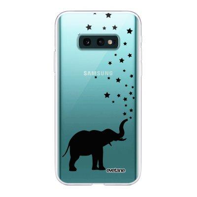 Coque Samsung Galaxy S10e 360 intégrale transparente Elephant Ecriture Tendance Design Evetane