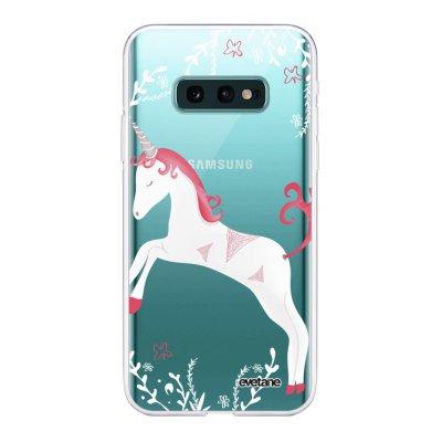 Coque Samsung Galaxy S10e 360 intégrale transparente Licorne Ecriture Tendance Design Evetane