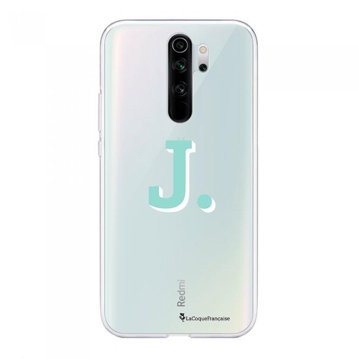Coque Xiaomi Redmi Note 8 Pro souple transparente Initiale J Motif Ecriture Tendance La Coque Francaise