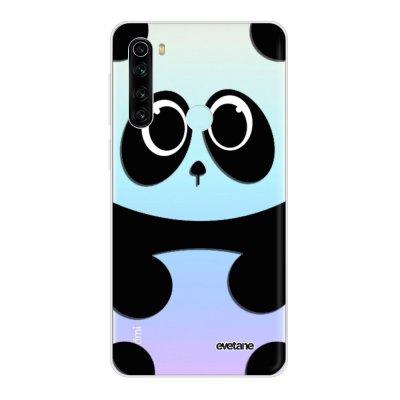 Coque Xiaomi Redmi Note 8 T 360 intégrale transparente Panda Ecriture Tendance Design Evetane