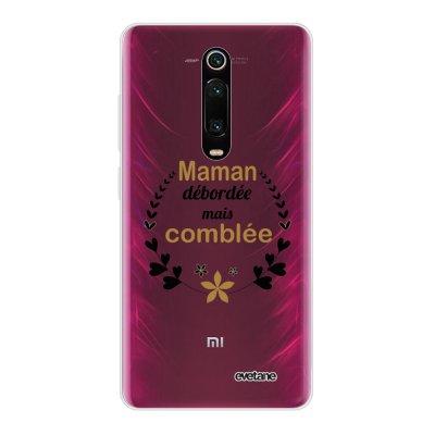 Coque Xiaomi Mi 9T 360 intégrale transparente Maman débordée Ecriture Tendance Design Evetane