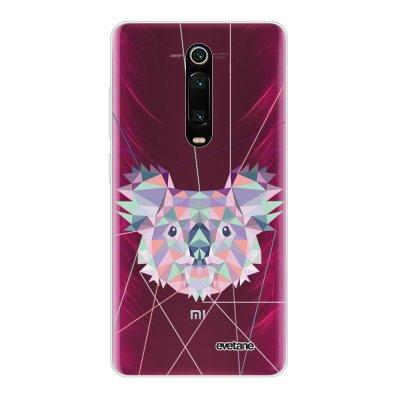Coque Xiaomi Mi 9T 360 intégrale transparente Koala outline Ecriture Tendance Design Evetane