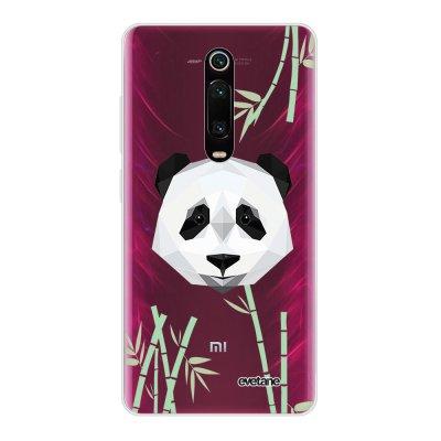 Coque Xiaomi Mi 9T 360 intégrale transparente Panda Bambou Ecriture Tendance Design Evetane