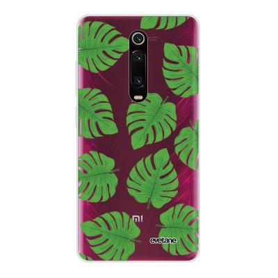 Coque Xiaomi Mi 9T 360 intégrale transparente Feuilles palmiers Ecriture Tendance Design Evetane