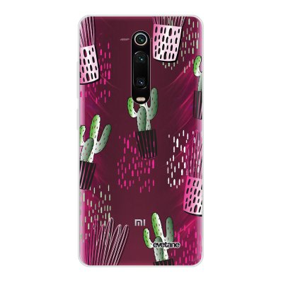 Coque Xiaomi Mi 9T 360 intégrale transparente Cactus motifs Ecriture Tendance Design Evetane