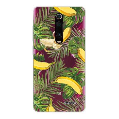 Coque Xiaomi Mi 9T 360 intégrale transparente Bananes Tropicales Ecriture Tendance Design Evetane