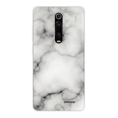 Coque Xiaomi Mi 9T 360 intégrale transparente Marbre blanc Ecriture Tendance Design Evetane
