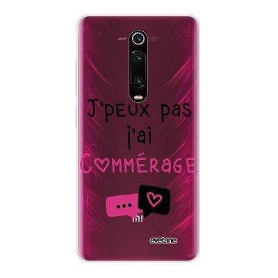 Coque Xiaomi Mi 9T 360 intégrale transparente Commérages Ecriture Tendance Design Evetane