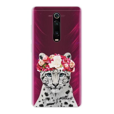 Coque Xiaomi Mi 9T 360 intégrale transparente Leopard Couronne Ecriture Tendance Design Evetane