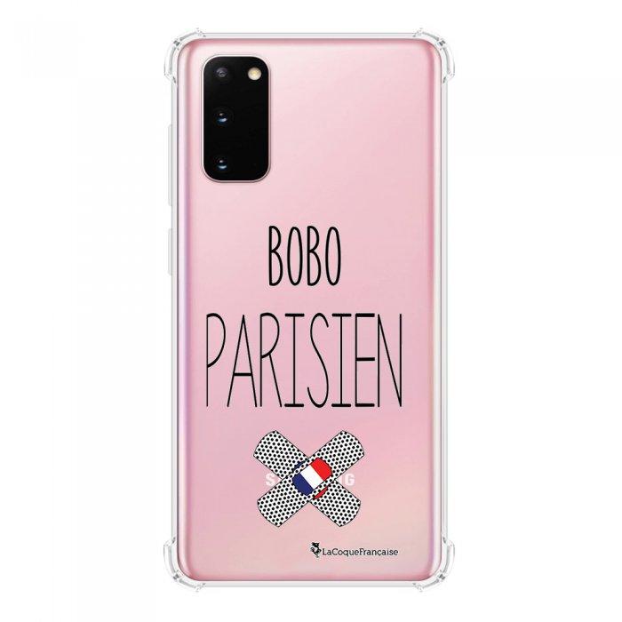 Coque Samsung Galaxy S20 anti-choc souple avec angles renforcés transparente Bobo parisien La Coque Francaise