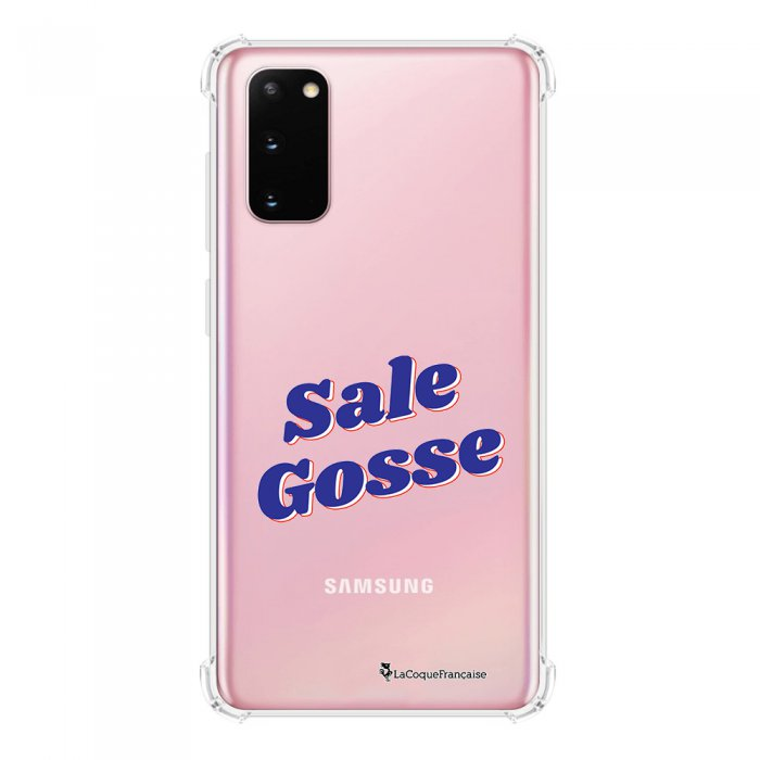 Coque Samsung Galaxy S20 anti-choc souple avec angles renforcés transparente Sale Gosse bleu La Coque Francaise