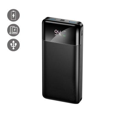 Batterie externe 30 000mah avec charge Rapide Affichage De La Puissance LED