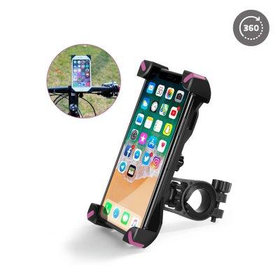 Support vélo  pour Smartphones/tablette Rose