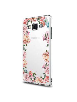 Coque rigide transparent Flowers pour Samsung Galaxy Grand Prime