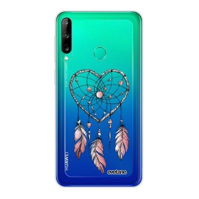 Coque Huawei P40 Lite E souple transparente Attrape coeur Motif Ecriture Tendance Evetane