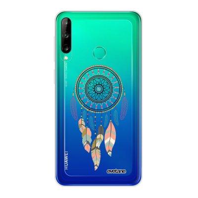 Coque Huawei P40 Lite E souple transparente Attrape rêve pastel Motif Ecriture Tendance Evetane