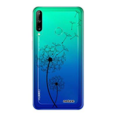 Coque Huawei P40 Lite E souple transparente Pissenlit Motif Ecriture Tendance Evetane