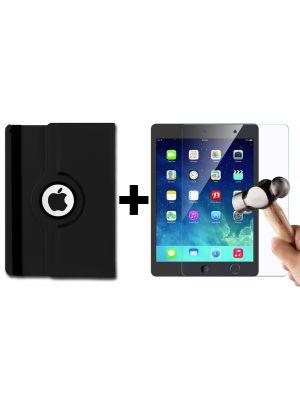 Pack essentiel pour iPad Mini 4 : Etui rotatif 360° + Vitre de protection en verre trempé