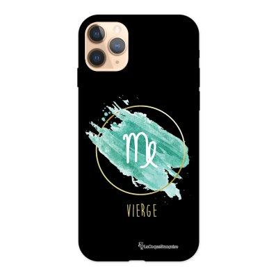 Coque iPhone 11 Pro Silicone Liquide Douce noir Vierge La Coque Francaise.