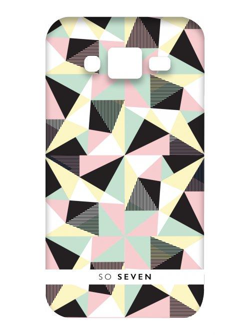 So Seven Coque Graphic Pastel Geometric Samsung Galaxy J3 2016