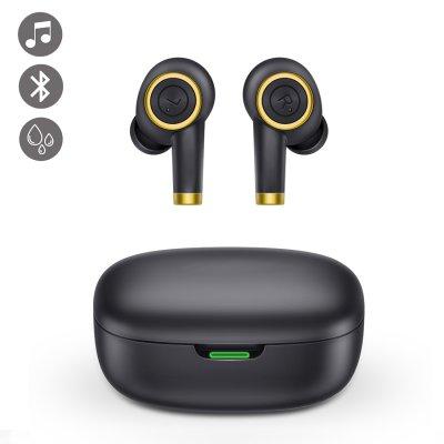 Ecouteurs intra-auriculaire étanches Bluetooth Noir
