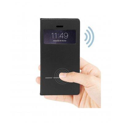 Etui tactile noir pour iPhone 7 Plus