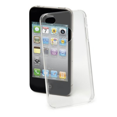 Coque Crystal Thin 0.4mm transparente film protecteur inclus iPhone 4 et 4S