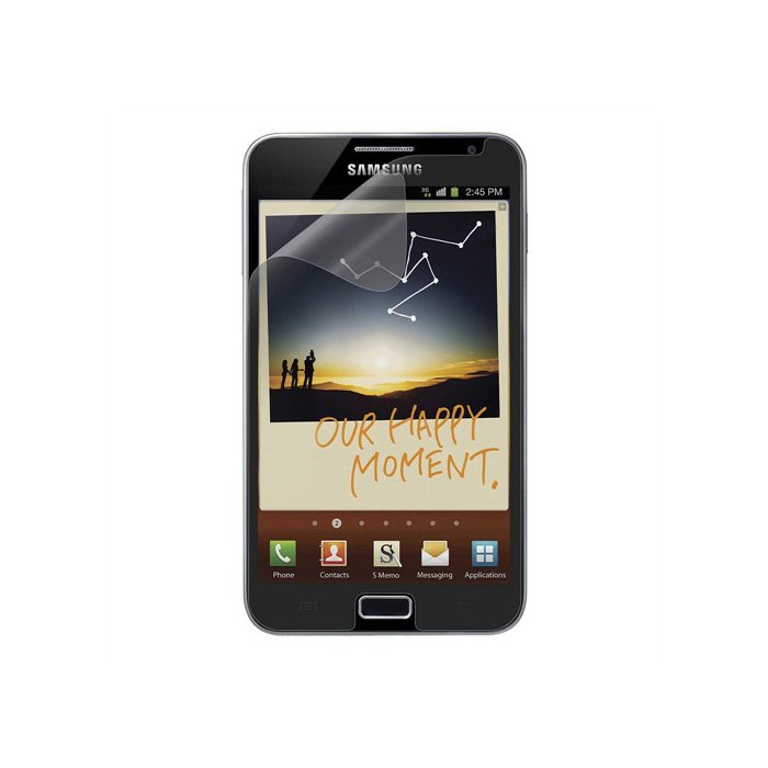 Lot de 2 protections ecran anti traces de doigt Samsung Galaxy Note