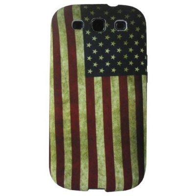 Coque silicone Samsung Galaxy SIII drapeau USA