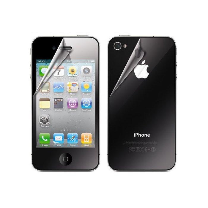 Protection écran avant et arrière XQISIT pour iPhone 4 / 4S